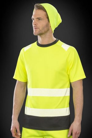 RECYCLED SAFETY T-PAITA  R502