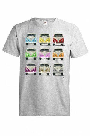 DC Colored Kleinbus T-paita 018286