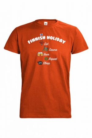CO DC Holiday in Finland T-paita     015660