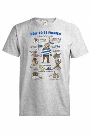 DC How to be Finnish T-paita  015659
