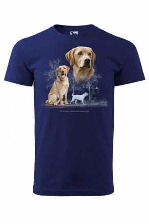 DC Keltainen labradorinnoutaja T-paita   016591
