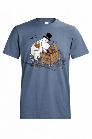DC Muumipappa ja viskilaatikko T-paita   014726