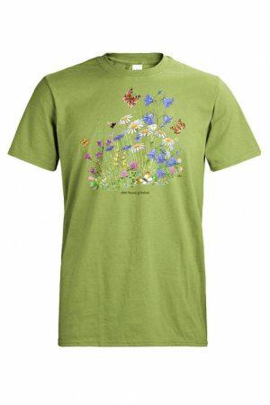 DC Niitty ja perhoset T-paita 015431
