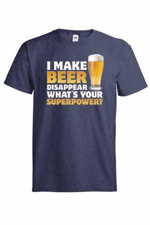 I make beer disappear T-paita     014370 VF