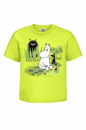 Muumipeikko ongella Lasten T-paita     024772