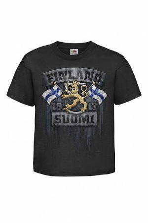 DC Liput ja leijona Lasten T-paita   027428
